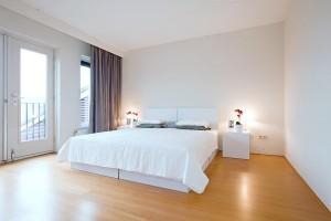 Slaapkamer samengesteld uit Cubiqz elementen