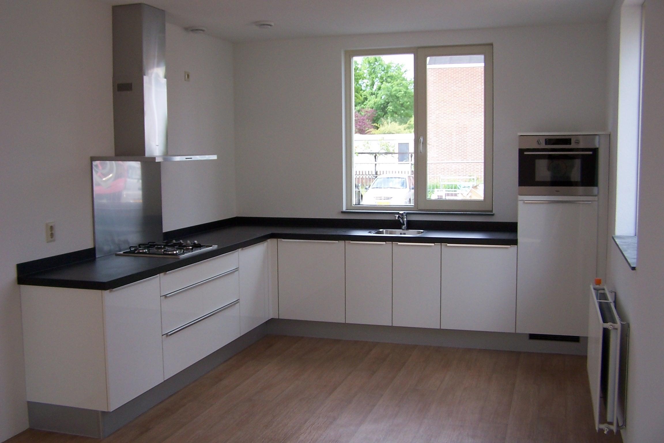 keuken modelwoning 1